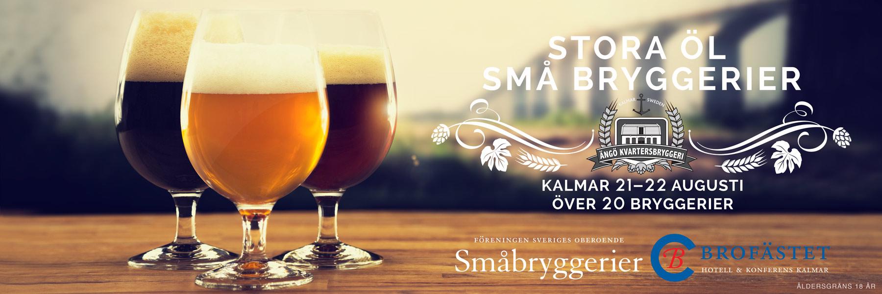 Stora öl - Små bryggerier